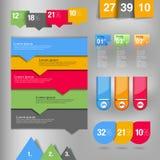 Infographicelement Royalty-vrije Stock Afbeeldingen