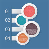Infographicelementen Stock Afbeeldingen