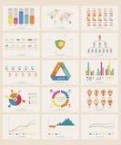 Infographicelementen Stock Fotografie