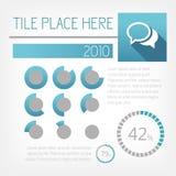 Infographicelementen. Royalty-vrije Stock Afbeelding