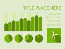 Infographicelementen. Stock Foto
