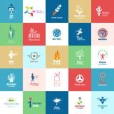 Infographicelementen en Communicatie Concept Royalty-vrije Stock Foto