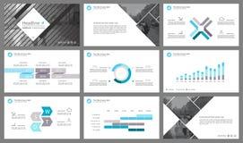 Infographicelementen voor presentatiemalplaatjes Royalty-vrije Stock Foto