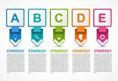 Infographicmalplaatje voor bedrijfspresentaties of informatiebanner vector illustratie