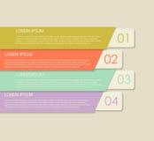 Infographicmalplaatjes voor Bedrijfsvector Royalty-vrije Stock Fotografie