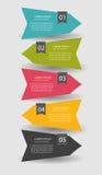 Infographicmalplaatjes voor Bedrijfsvector Royalty-vrije Stock Afbeelding