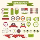 Infographics传染媒介 免版税图库摄影