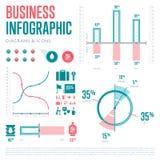 Infographics要素 也corel凹道例证向量 图库摄影