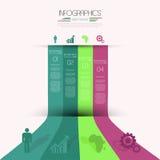 Infographics设计。 免版税库存图片