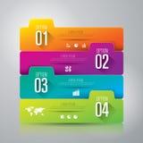 Infographics设计模板 免版税图库摄影