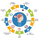 Infographics για το κτύπημα διανυσματική απεικόνιση