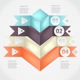 Infographics вектора Стоковое Изображение