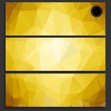 Infographics визитной карточки Стоковые Фотографии RF
