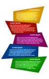 Infographics иллюстрации геометрическое Стоковое Фото