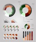 infographics элементов иллюстрация вектора