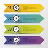 Infographics 财务资助 设计现代模板 也corel凹道例证向量 库存例证