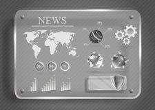 Infographics illustration libre de droits
