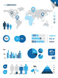 Infographics Stockbild
