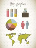 Infographics Stock Photo