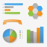 Infographics Στοκ Φωτογραφίες