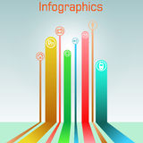 Infographics Stockfotos