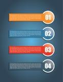 Infographics Stockbild
