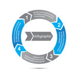 Infographics Foto de Stock Royalty Free