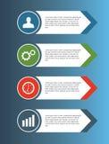 Infographics Stockfoto