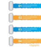Infographics Royalty-vrije Stock Foto's