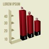 Infographics Στοκ Φωτογραφία