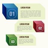 Infographics Fotografia de Stock Royalty Free