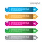 Infographics Royalty-vrije Stock Fotografie