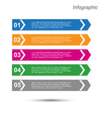 Infographics Imagens de Stock Royalty Free
