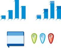 Infographics Lizenzfreie Stockfotos