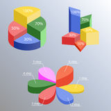 Infographics Royaltyfri Fotografi