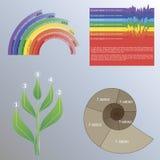 Infographics Στοκ εικόνες με δικαίωμα ελεύθερης χρήσης