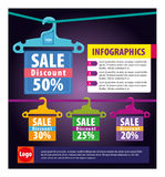 Infographics Fotografia de Stock