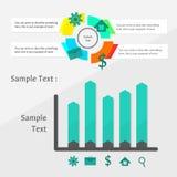 Infographics Arkivfoton