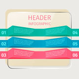 Infographics Ελεύθερη απεικόνιση δικαιώματος