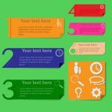 Infographics Fotografia Stock
