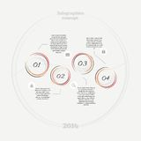 Infographics abstract concept Stock Fotografie