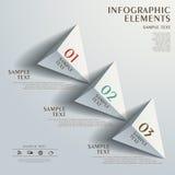 Infographics abstracto del organigrama libre illustration