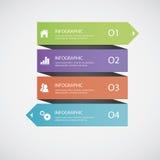 Infographics astratto Fotografie Stock