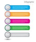 Infographics Auslegungschablone Lizenzfreie Stockfotografie