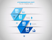 Infographics background to display your data Royalty Free Stock Photo