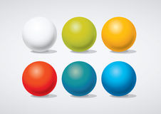 Infographics ball. Glossy ball infographic elements template Royalty Free Stock Photos