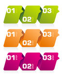 Infographics Banners Stock Photos