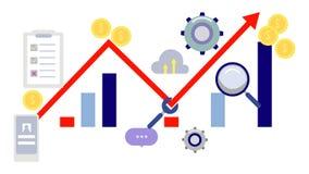 Infographics stock illustratie