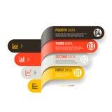 Infographics beståndsdelar stock illustrationer