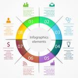 Infographics biznesu elementy Obrazy Stock